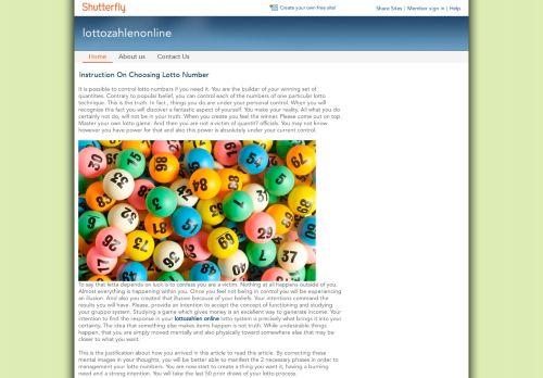 lottozahlenonline.shutterfly.com
