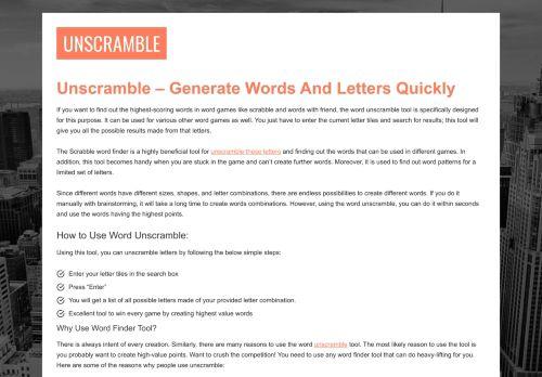 unscrambles.net